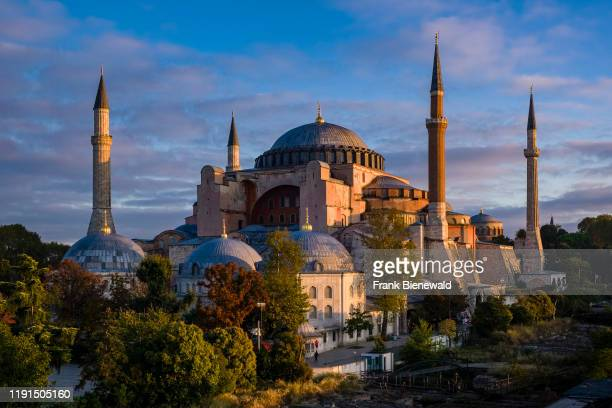 Hagia Sophia Ayasofya a former Greek Orthodox Christian cathedral later an Ottoman mosque and now a museum