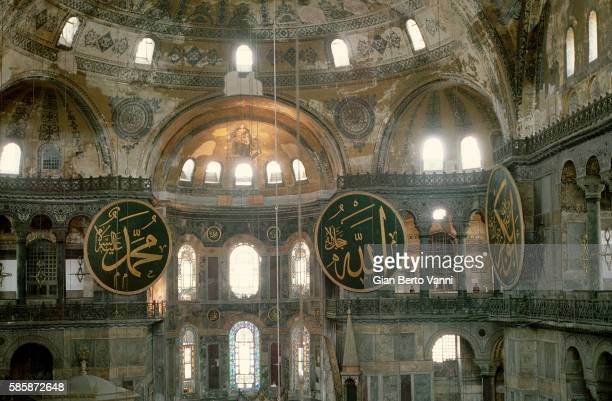 Hagia Sophia in Istanbul: Interior and Apses