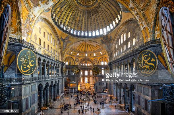 hagia sophia in istanbul - hagia sophia stock pictures, royalty-free photos & images