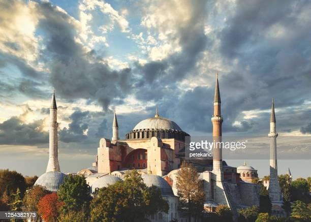 hagia sophia in istanbul, turkey - beautiful ramadan stock pictures, royalty-free photos & images