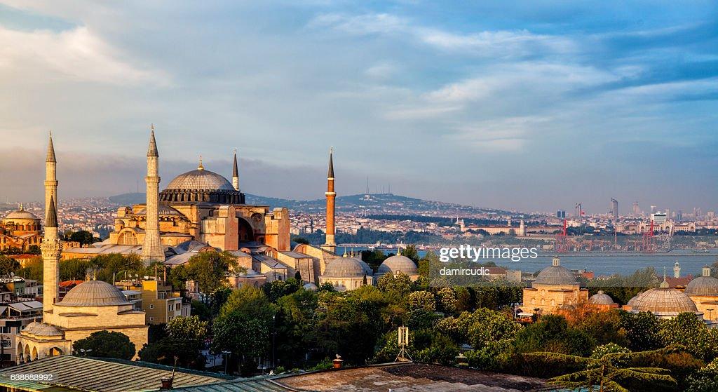 Hagia Sophia à Istanbul, Turquie  : Photo