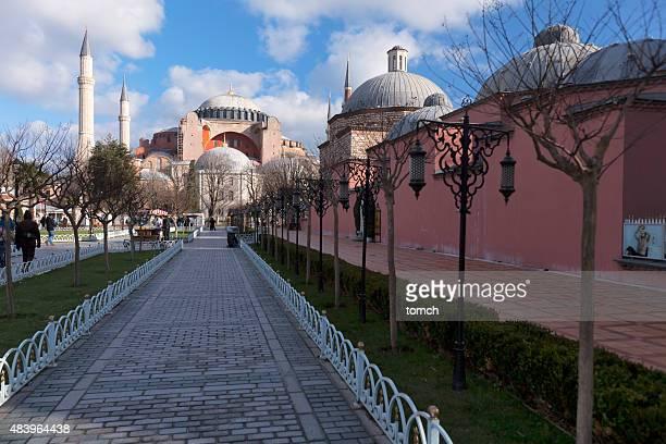 Hagia Sophia dans le quartier de Sultanahmet