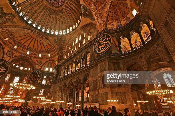 CONTENT] Hagia Sophia is a former Greek Orthodox patriarchal basilica and now a museum in Istanbul Turkey