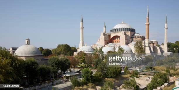 Hagia Sophia Istanbul Turkey 01 September 2017