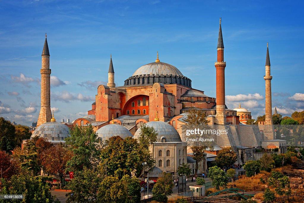 Hagia Sophia (Ayasofya), Istanbul, Turkey : Foto de stock