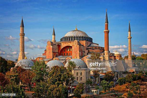 hagia sophia (ayasofya), istanbul, turkey - hagia sophia stock pictures, royalty-free photos & images