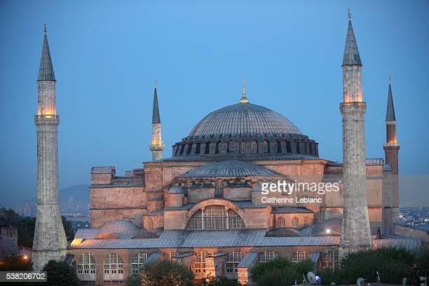 Hagia Sophia mosque.