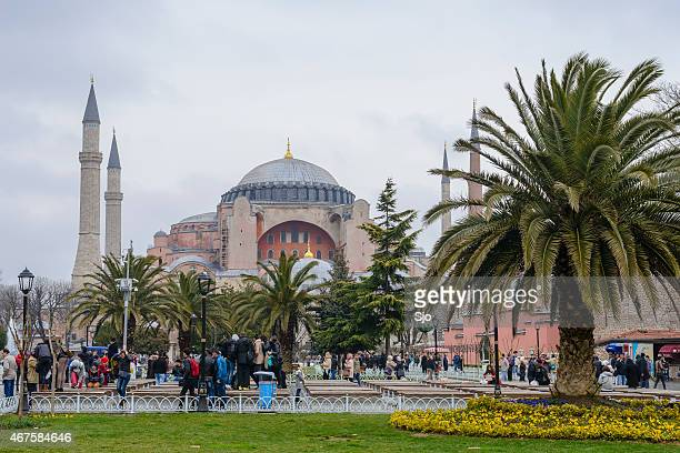 "museu hagia sophia em istambul, turquia - ""sjoerd van der wal"" or ""sjo"" - fotografias e filmes do acervo"