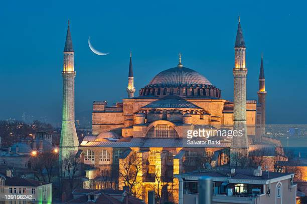 hagia sophia - istanbul stock pictures, royalty-free photos & images