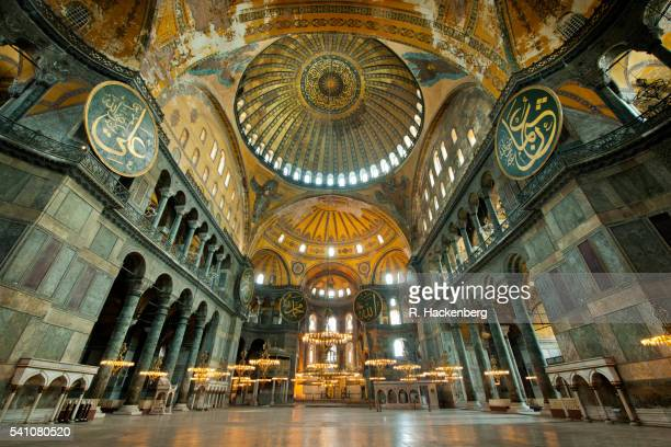 hagia sophia, sultanahmet district, istanbul, turkey - hagia sophia stock pictures, royalty-free photos & images