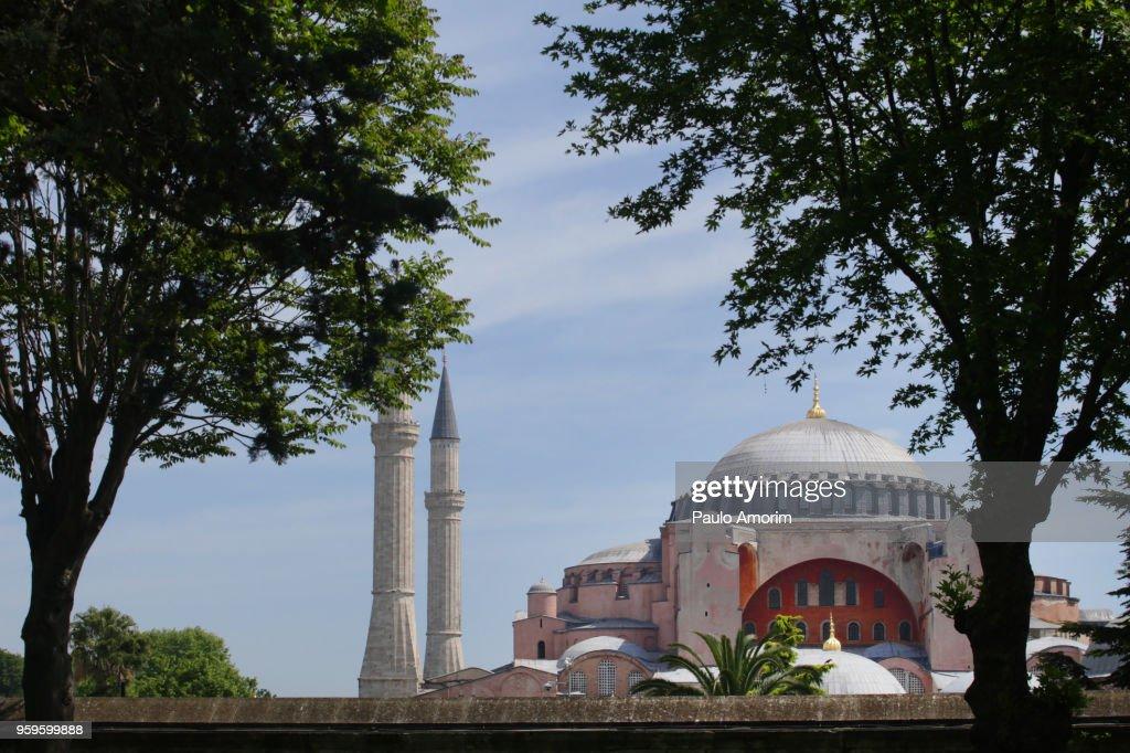 Hagia Sophia UNESCO World Heritage Site in Istanbul : Stock-Foto
