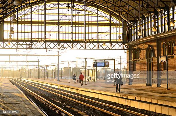 hague station - hague stock photos and pictures