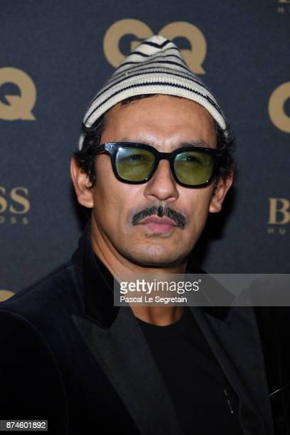 Haider Ackermann attends GQ Men Of The Year Awards 2017 at Le Trianon on November 15 2017 in Paris France