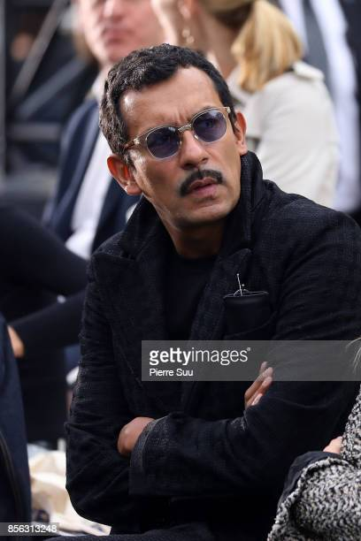 Haider Ackermann Attends Le Defile L'Oreal Paris show as part of the Paris Fashion Week Womenswear Spring/Summer 2018 on October 1 2017 in Paris...