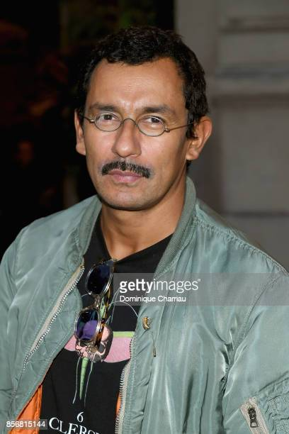Haider Ackermann attends the Fashion Tech Lab Launch Event Hosted By Miroslova Duma And Stella McCartney as part of Paris Fashion Week Womenswear...