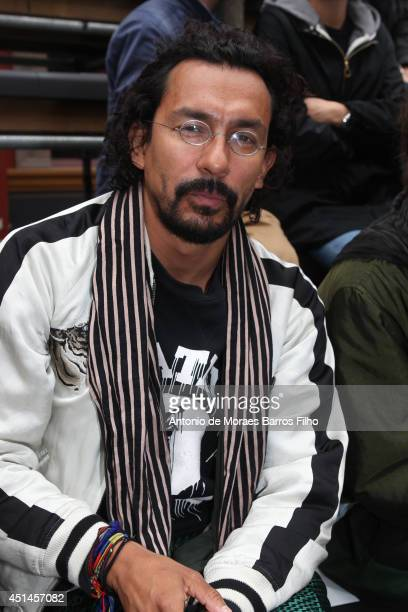 Haider Ackermann attends the Lanvin show as part of the Paris Fashion Week Menswear Spring/Summer 2015 on June 29 2014 in Paris France
