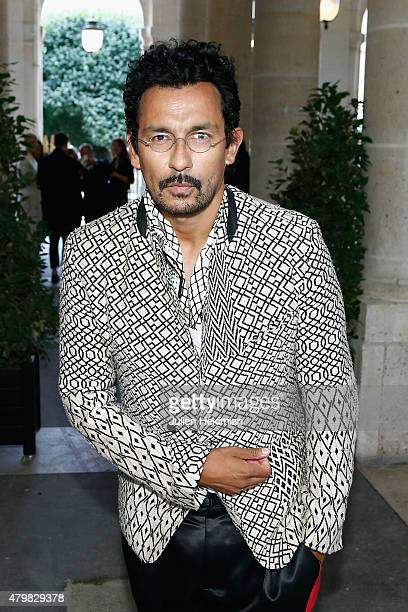 Haider Ackermann attends the mytheresacom Haider Ackermann Dinner At Le Grand Vefour as part of Paris Fashion Week Haute Couture Fall/Winter...