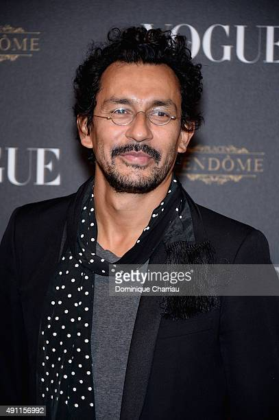 Haider Ackermann attends the Vogue 95th Anniversary Party Photocall as part of the Paris Fashion Week Womenswear Spring/Summer 2016 on October 3 2015...