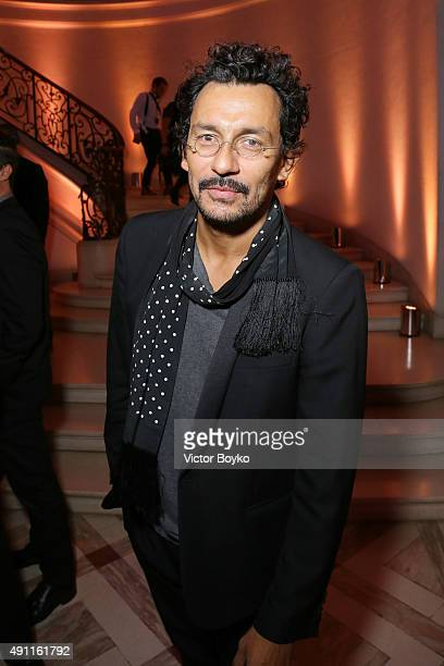 Haider Ackermann attends Vogue 95th Anniversary Party on October 3 2015 in Paris France