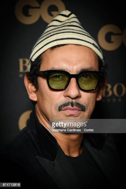Haider Ackermann Awarded as Gentleman of the year attends the GQ Men Of The Year Awards 2017 at Le Trianon on November 15 2017 in Paris France