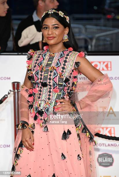Haiesha Mistry attends the National Television Awards 2021 at The O2 Arena on September 09, 2021 in London, England.
