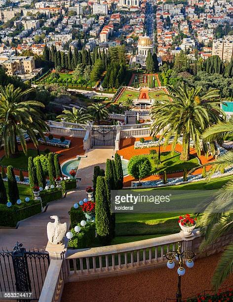 Haifa, Bahai Temple Gardens