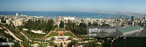 Haifa, Israel panoramic view