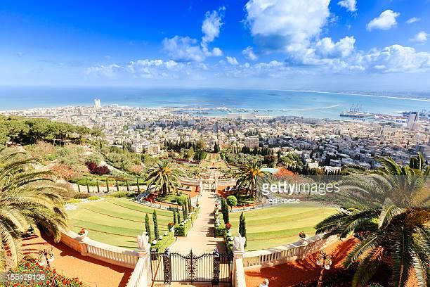 haifa, israel - haifa stock pictures, royalty-free photos & images