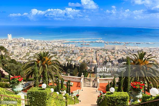 haifa, israel - historical palestine stock pictures, royalty-free photos & images