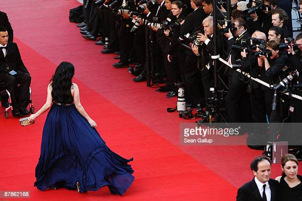 Haifa Wahbi attends the Broken Embraces Premiere held at the Palais Des Festivals during the 62nd International Cannes Film Festival on May 19 2009...