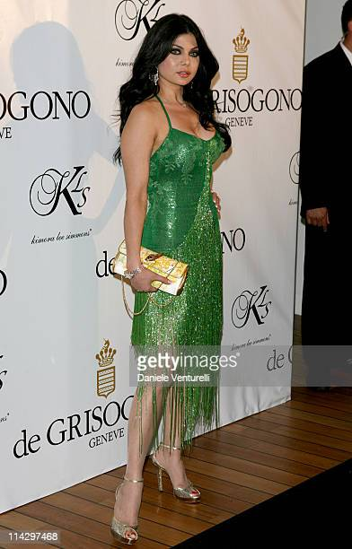 Haifa Wehbe during 2007 Cannes Film Festival de Grisogono Party at Hotel du Cap in Cannes France