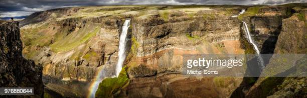haifoss - fossa stock photos and pictures