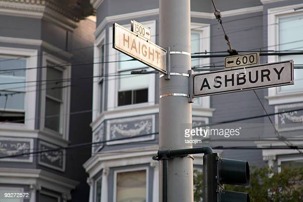 haight-ashbury - haight ashbury stock photos and pictures