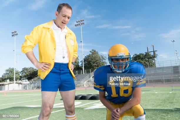 THE GOLDBERGS 'Hail Barry' Barry joins the football team but is quickly benched by Coach Mellor due to his lack of playing ability He convinces...