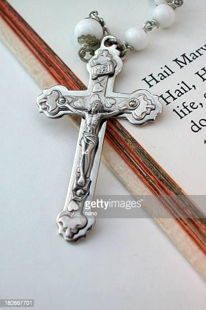 ave maria - madonna del rosario foto e immagini stock