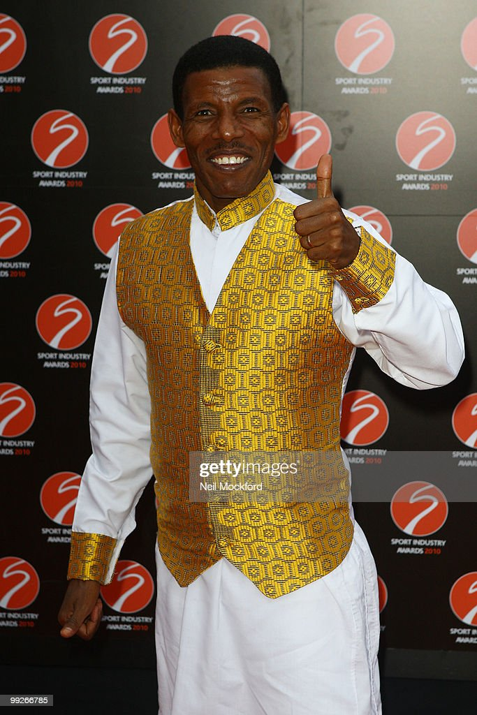 Haile Gebrselassie attends the Sport Industry Awards at Battersea Evolution on May 13, 2010 in London, England.