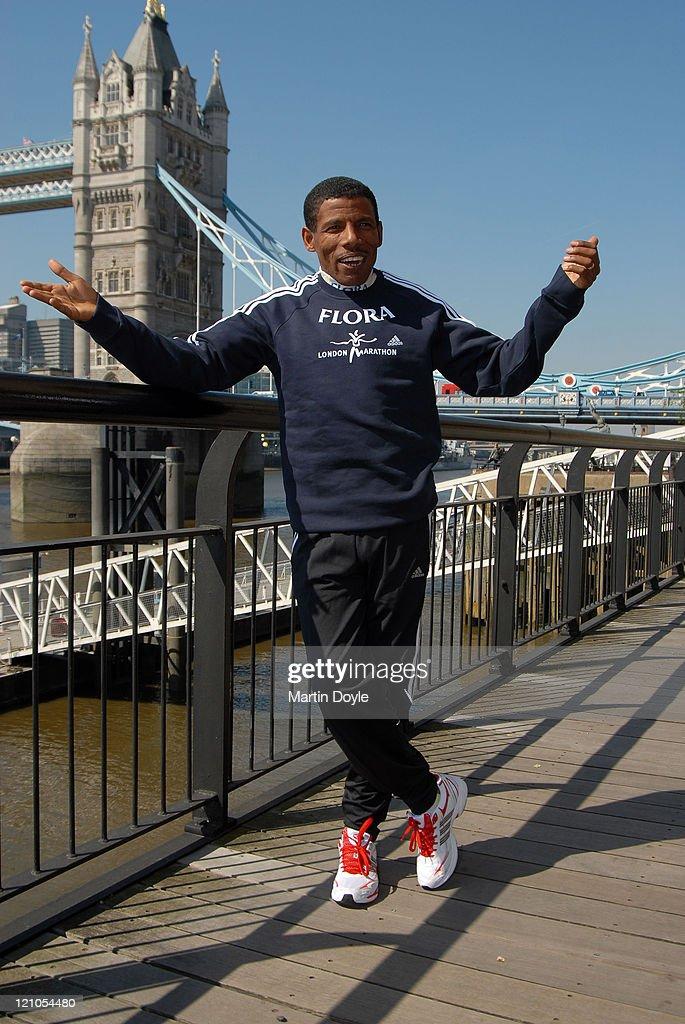 Flora London Marathon - Elite Male Runners - Photocall