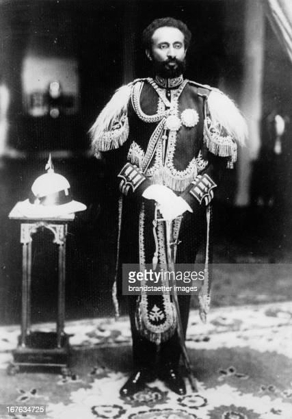 Haile Salassie I emperer of Ethiopia Photograph About 1931 Der äthiopische Kaiser Haile Selassi Photographie Um 1931
