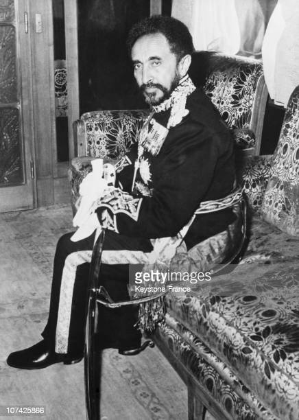 Haile Selassie At Addis Abeba In Ethiopia