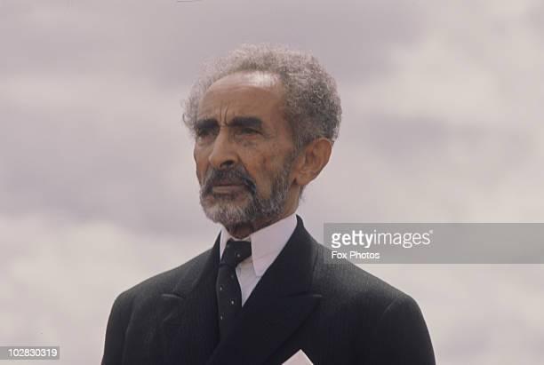 Haile Selassie I Emperor of Ethiopia circa 1975