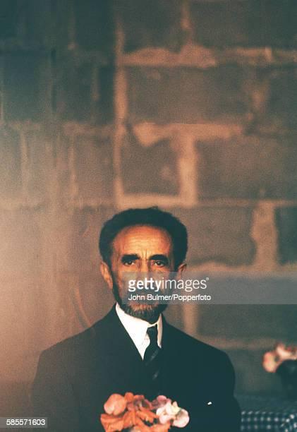 Haile Selassie I Emperor of Ethiopia in Ethiopia circa 1965