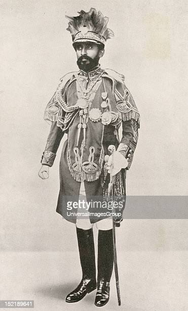 Haile Selassie I Ethiopia's regent from 1916 to 1930 and Emperor of Ethiopia from 1930 to 1974