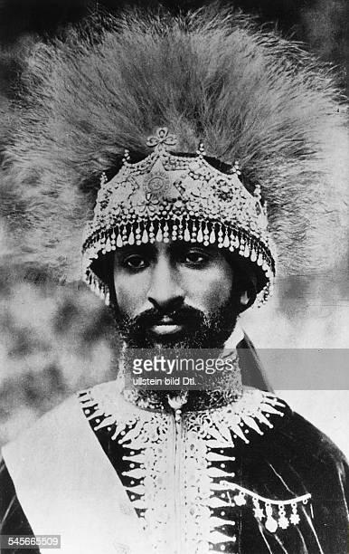 Haile Selassie I*23071892Ras Tafari MakkonenKaiser Äthiopien 19301974 Portrait vermutl 1920er Jahre