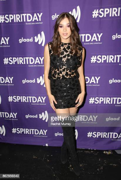 Hailee Steinfeld at Justin Tranter And GLAAD Present 'Believer' Spirit Day Concert at Sayer's Club on October 18 2017 in Los Angeles California