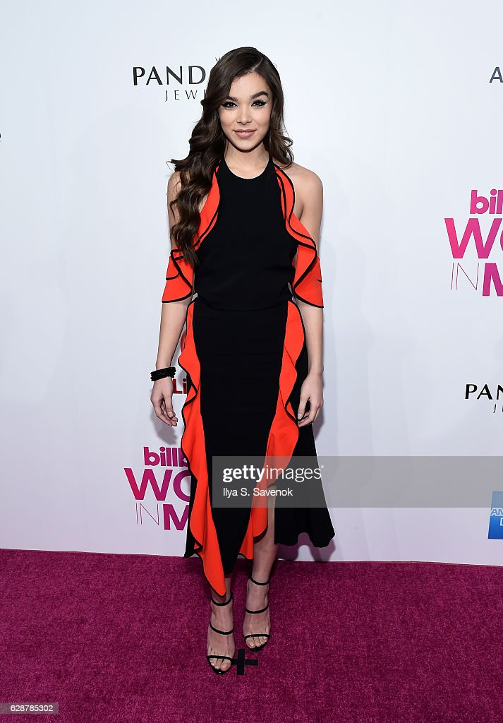Hailee Steinfeld attends Billboard Women In Music 2016 Airing December 12th On Lifetime at Pier 36 on December 9, 2016 in New York City.