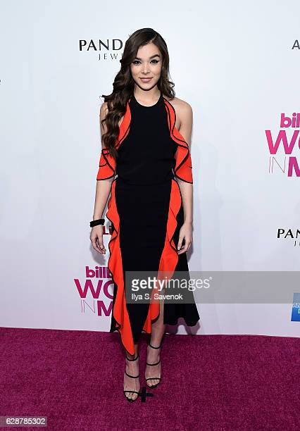 Hailee Steinfeld attends Billboard Women In Music 2016 Airing December 12th On Lifetime at Pier 36 on December 9 2016 in New York City
