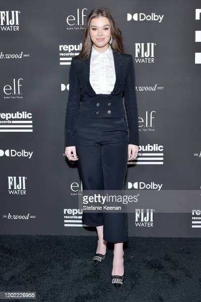 Hailee Steinfeld attends FIJI Water At Republic Records 2020 Grammy After Party on January 26 2020 in West Hollywood California
