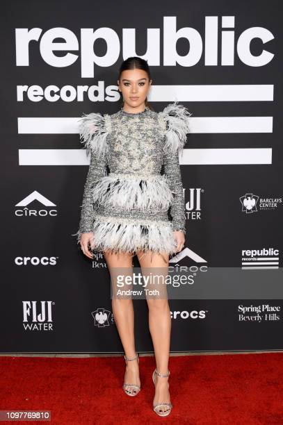 Hailee Steinfeld attends Republic Records Grammy after party at Spring Place Beverly Hills on February 10 2019 in Beverly Hills California
