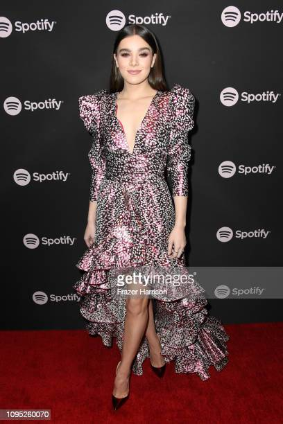 Hailee Steinfeld attends Spotify Best New Artist 2019 event at Hammer Museum on February 7 2019 in Los Angeles California