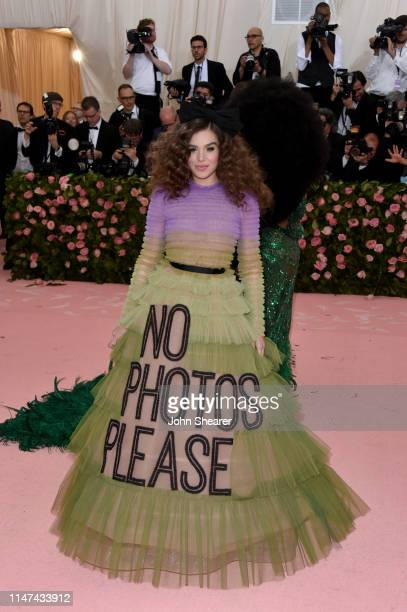 Hailee Steinfeld attends The 2019 Met Gala Celebrating Camp: Notes on Fashion at Metropolitan Museum of Art on May 06, 2019 in New York City.